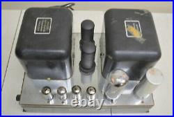 McINTOSH MC-30 TUBE MONOBLOCK POWER AMPLIFIER MC30 For Repair or Restoration