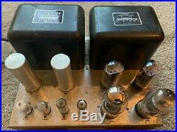 McIntosh MC60 Tube Power Amplifier 60 Watt Monoblock