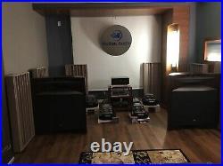 Melton 6C33 6C33C Monoblock Tube Amplifiers Wilson JBL PMC Dynaudio Usher KEF