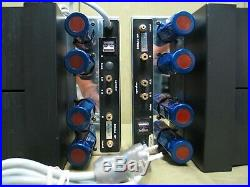 Mentmore Industries M-100 Vintage Tube Mono-Block Amplifiers (One Owner)