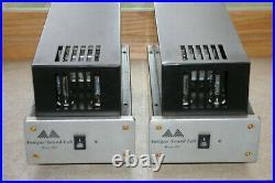 Monoblock tube amps