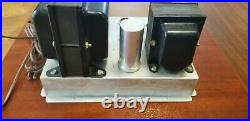 Motorola Monoblock Tube Power Amplifier Model HS-607 / Push-Pull 6CA7/EL34