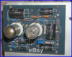 My Own Home Brew Dynaco Mark III Monoblock Amp, Modern Driver Board and Tubes