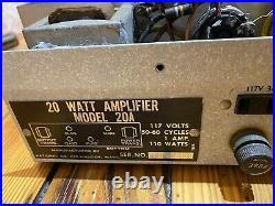 National Horizon 20 monoblock Mono Tube Amp 6L6 Power Amp