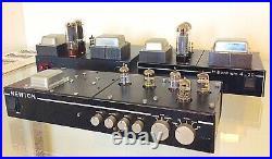 Newton Mono Block EL34 Valve Tube Amplifiers & Pre Amp ECC83 Phono Stage Lumley