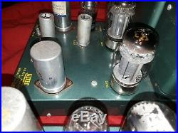 Nice Pair Good Working Altec A340A Monoblock Tube 6550 Amplifiers