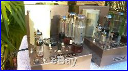 ORIGINAL 1960's MARANTZ MODEL 5 PAIR OF MONO BLOCK TUBE AMPLIFIERS OUTSTANDING