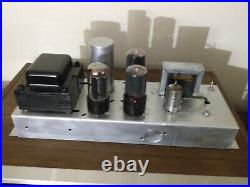 One Vintage Magnavox AMP 169-AA Monoblock Tube Power Amplifier. Works Perfectly