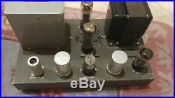 Outstanding condition Eico HF-60 Monoblock Tube Amp