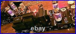 PAIR Bogen Presto MO60 MONO BLOCK 60wpc TRIPLE RECTIFIED VTG TUBE POWER AMP RARE