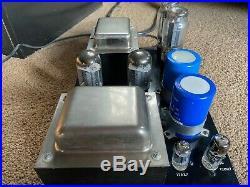 PAIR QUICKSILVER 8417 MONOBLOCK POWER AMPLIFIERS WithTUBES