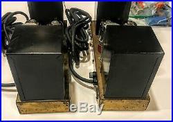 PAIR (TWO) PILOT / PILOTONE Model AA-410 5881 Tube Monoblock Power Amplifier