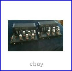 PAIR of VINTAGE MFA M-200 MONOBLOCK TUBE AMPS HIGH END TOP OF THE LINE