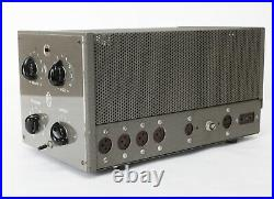 PIERRE CLEMENT CW-10 & AS scarce vintage french tube amp mono block pair stereo