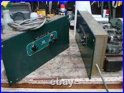 Pair Altec 1569a Tube Mono Block Amplifiers