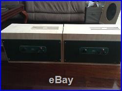 Pair Altec 1569a Tube Mono Block Power Amplifiers Hifi Peerless