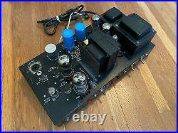 Pair Bogen MO-100 Mono Block Tube Amplifiers. Recapped Upgraded For Hi-Fi Use