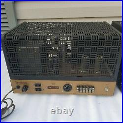 Pair Heathkit W5m Mono Block Tube Amplifiers