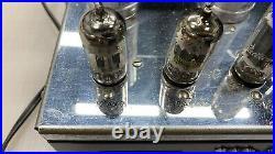 Pair Of McIntosh MC-60 Tube Mono Block Amplifiers. Professionally Restored