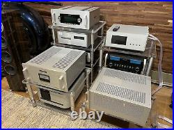 Pair Orig Factory Audio Research Ref 250 SE Tube Mono block Amp Kt150 WithBox