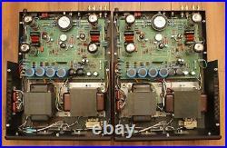 Pair Rogue Audio M-180 Monoblock Tube Amplifiers 180W, Black