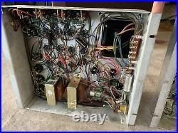 Pair Vintage BALDWIN 6bq5 MONO BLOCK Tube Amplifiers