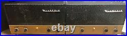 Pair Vintage Heathkit AA-10 Monoblock Tube Amps withCages & ALL REAL Mullard Tubes