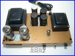 Pair Vintage Heathkit W-7A Monoblock Tube Amplifiers / KT-88 - KT