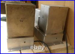 Pair of Allen Organ 6L6 tube mono block Amplifier model 20A