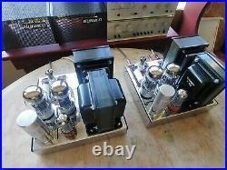 Pair of Dynaco MKIII Monoblock Tube Amplifiers, Audiophile KT88 Brand New Build