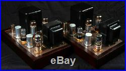 Pair of Eico HF-35 Mono Block Tube Amplifiers 30 WPC, Professionally Restored