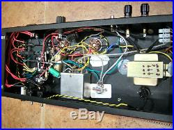 Pair of Handmade TO-300 6384 6L6 6AR6 tube Mono block amplifers withpreamp