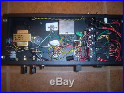 Pair of Handmade TO-300 6384 6L6 6AR6 tube Mono block amplifiers withpreamp