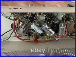 Pair of Vintage Ampex Tube Monoblock Amplifiers 30watt Restored! El34 Rare