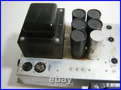 Pair of Vintage Baldwin 60M Mono Block Tube Amplifiers / 6550 / 215 & 220 - KT