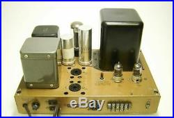 Pair of Vintage Heathkit W-5M Monoblock Tube Amplfiers with Covers - KT#1
