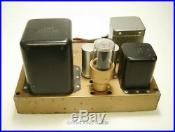 Pair of Vintage Heathkit W-5M Monoblock Tube Amplfiers with Covers - KT#2