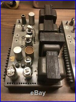 Pair of Vintage RCA MI-12182 Mono Block Tube Amplifiers