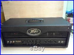 Peavey 3120 120 watt 3-ch USA tube guitar amp 4x6L6 CLEAN OR CRUNCHY! MONOBLOCK