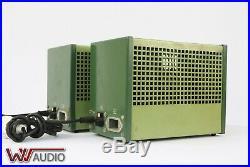 Philips HF 303 Tube Amplifier Röhrenverstärker Mono Block tubes Pair. 800 Ohm