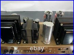 Pilotone Tube Amplifiers AA-901 Monoblocks Amps Triode KT66 Pilot Craftsman 500