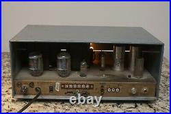 Precision Electronics S60 Tube Monoblock With Powerful 60 Watt Output. Works Read