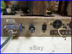 Precision electronics 6L6G vintage Amplifier IBM 6L6 tubes Lafayette mono block