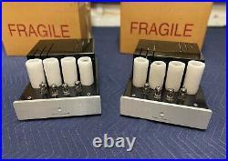 PrimaLuna ProLogue Six MonoBlock Amps Near Mint New Tubes TAS Editors Choice