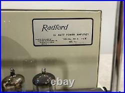 Radford MA15 (Series ll) Valve (Tube) Mono Blocks