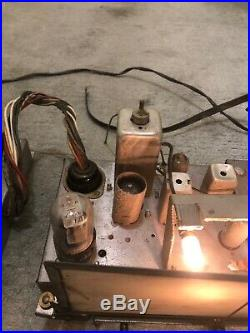 Rare Bendix Monoblock Tube Amp Tuner Preamp Tested Vintage