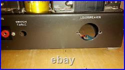 Rare/Vintage (56/57) LEAK TL/50 Plus mono block power amplifier, defect, no tubes