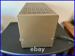 Rare Vintage Eico HF-20 Tube Amplifier Model 20 Monoblock with Cage for rebuild