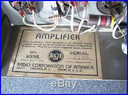 Rca 9335 Tube Mono Block Amplifier #2