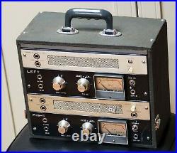 Roberts 770x / AKAI M8 monoblock tube amplifier pair, HI-FI audiophile upgraded